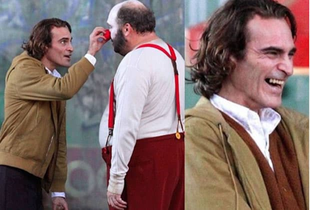 Joaquin Phoenix aparece maquiado como Coringa e faz web pirar; veja