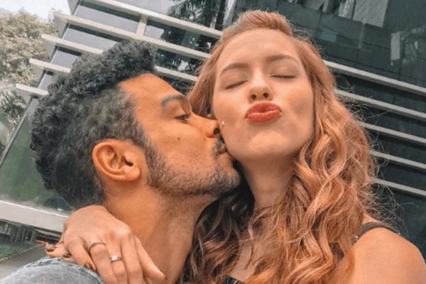 Sérgio Malheiros e Sophia Abrahão já moram juntos