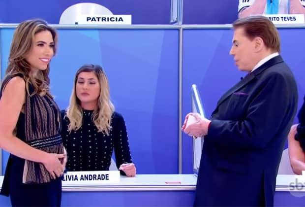 "Lívia Andrade ""antecipa"" gravidez de Patrícia Abravanel e surpreende Silvio Santos"
