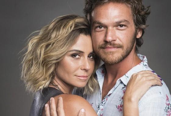 Luzia e Beto não eram reconhecidos na segunda fase da trama, mesmo com poucas mudanças no visual. (Imagem: Divulgação/ TV Globo)