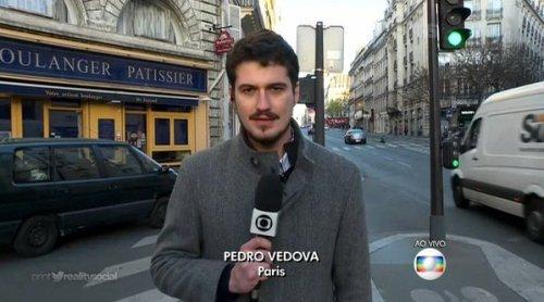 Pedro Vedova agora é pai