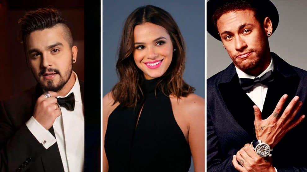 Fãs amaram a reação de Bruna Marquezine relacionadas ao Neymar e Luan Santana