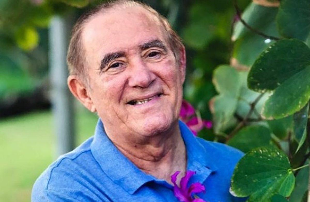 Aos 84 anos, Renato Aragão se declara à mulher e enlouquece fãs