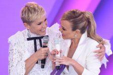 Xuxa e Eliana no SBT (Imagem: Divulgação)