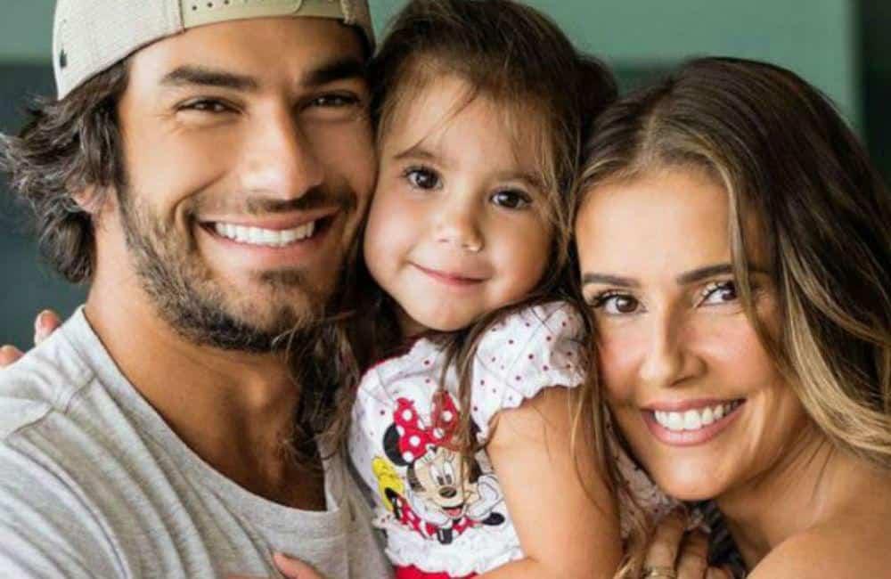 Hugo Moura Maria Flor e Deborah Secco