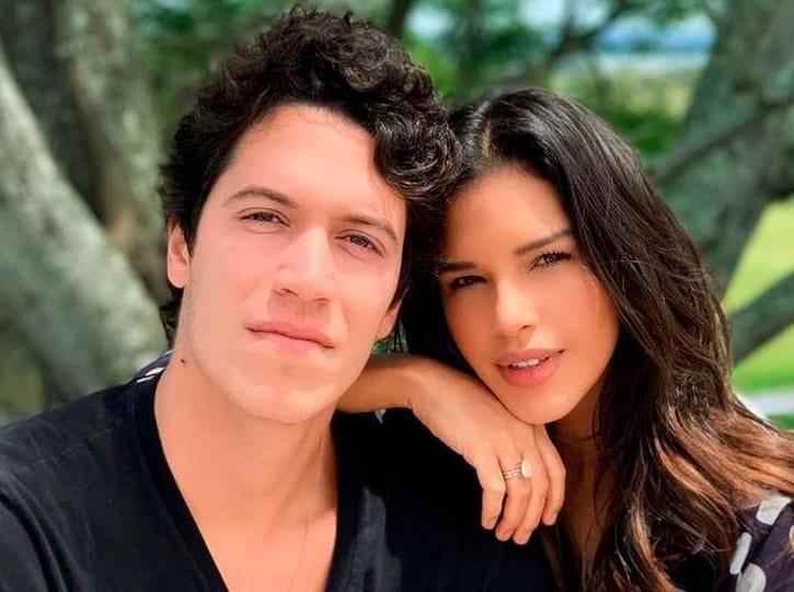 Mariana Rios e o noivo Lucas Kalil Aluani