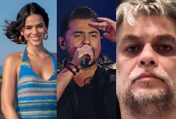 Bruna Marquezine , Xand e Fábio Assunção