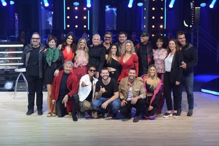 "Xuxa Meneghel e ""Dancing Brasil"""