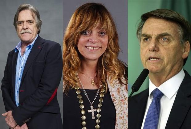 José de Abreu, Glória Perez e Bolsonaro