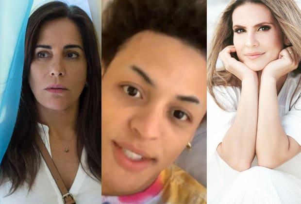 Glória Pires, Pabllo Vittar e Aline Barros
