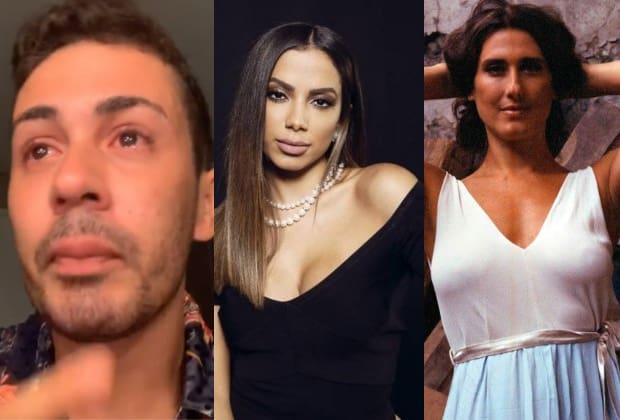 Carlinhos Maia, Anitta e Paola Carosella