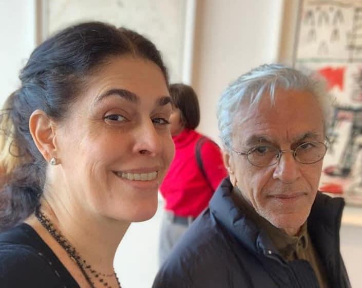 Paula Lavigne e Caetano Veloso