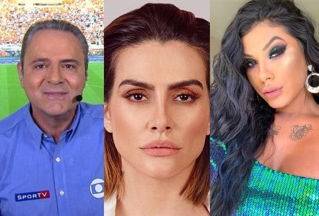 Luís Roberto, Cleo Pires e MC Pocahontas
