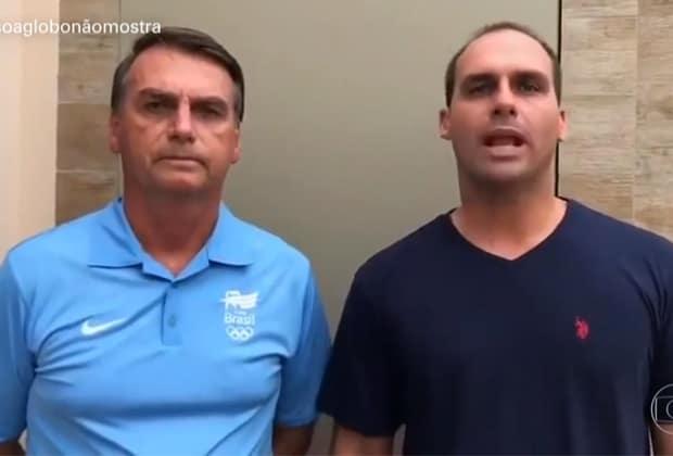 Bolsonaro e Globo