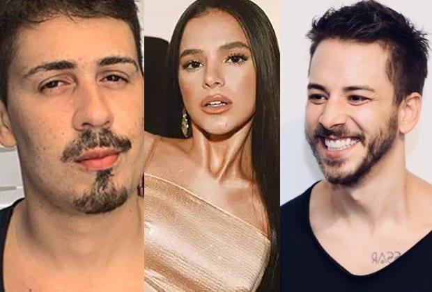 Carlinhos Maia, Bruna Marquezine e Junior Lima