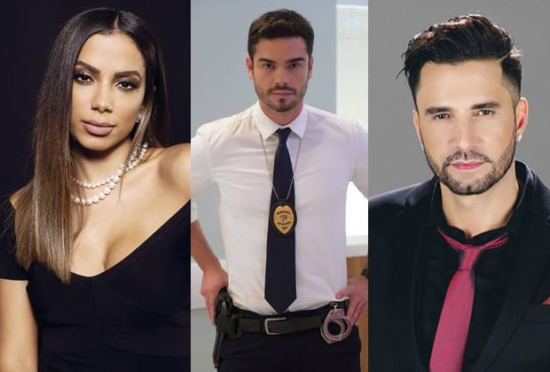 Anitta, Sidney Sampaio e Latino