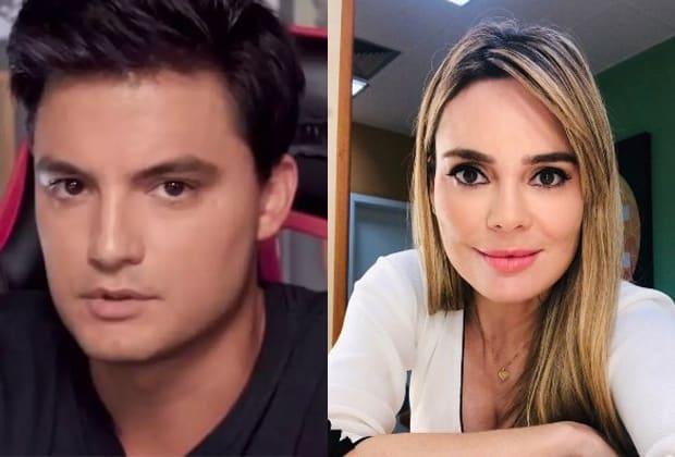 Felipe Neto e Rachel Sheherazade