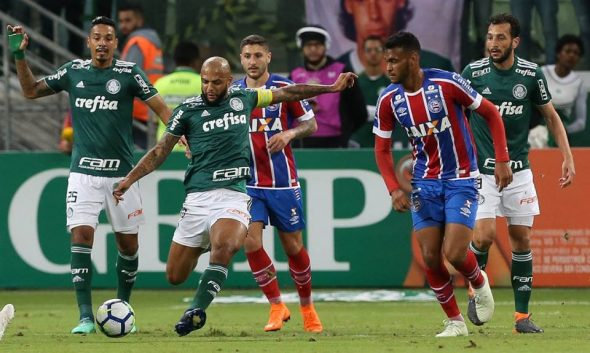 Palmeiras e Bahia