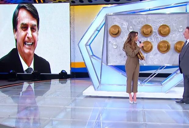 Patrícia Abravanel e Bolsonaro
