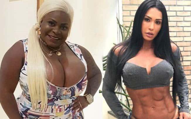 Jojo Todynho se compara a Gracyanne Barbosa, que reage