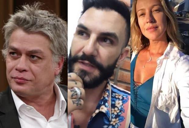 Fábio Assunção, ex-BBB Wagner e Luana Piovani