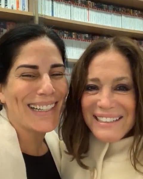 Susana Vieira e Gloria Pires