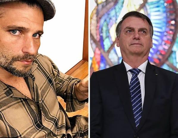 Bruno Gagliasso e Bolsonaro