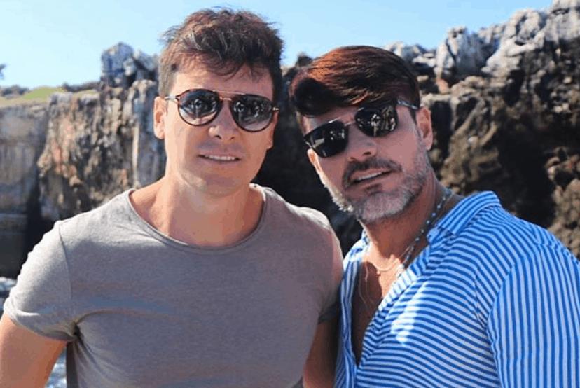 Rodrigo Faro ao lado do irmão, Danilo Faro (Imagem: Reprodução / Instagram)