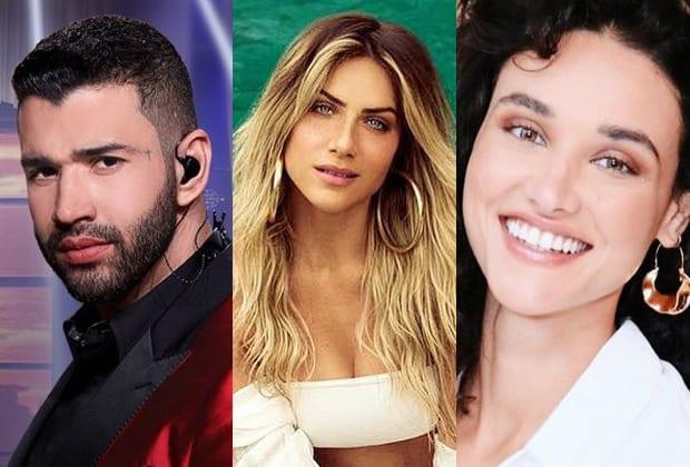 Gusttavo Lima, Giovanna Ewbank e Débora Nascimento