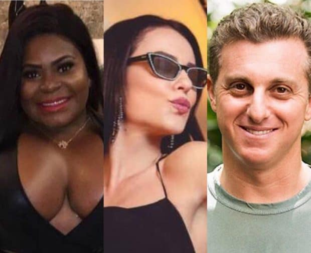 Jojo Todynho, Paolla Oliveira e Luciano Huck