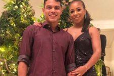 Thiago Silva e Belle Silva