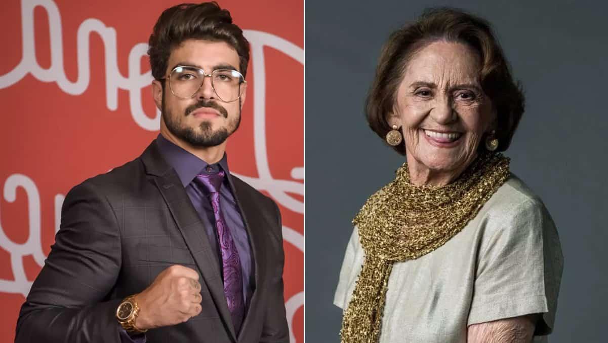 Caio Castro vence resistência de Laura Cardoso e tieta atriz - RD1 - Terra