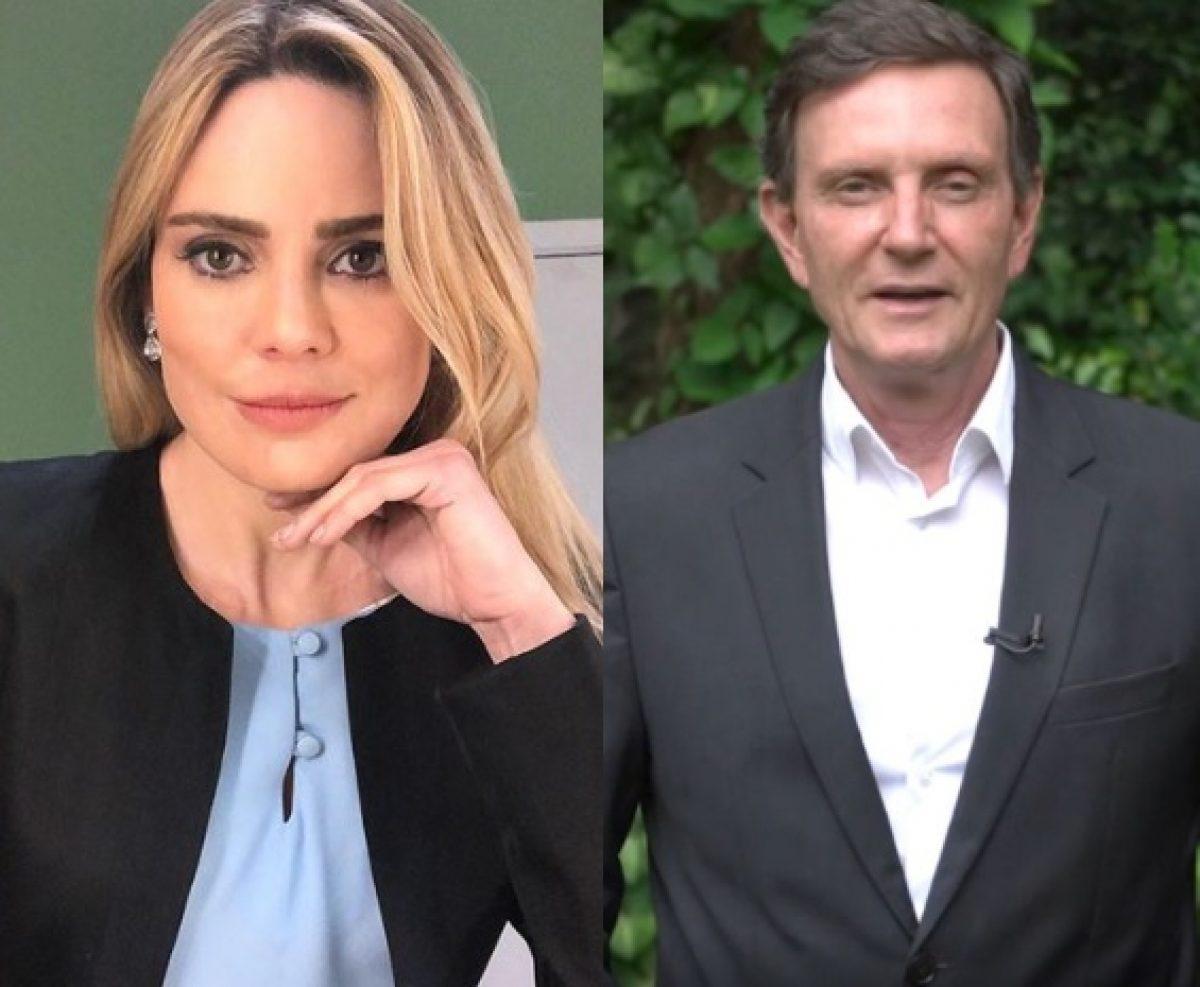Rachel Sheherazade rebate Marcelo Crivella e viraliza na web.   JOÃO BIOTT