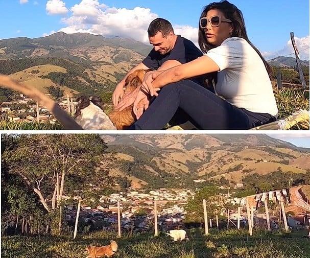 Mariana Felício e Daniel Saullo