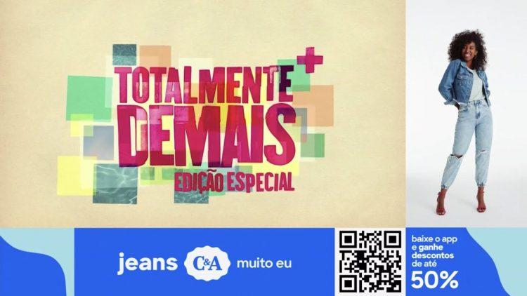 Squeeze inserido na vinheta de Totalmente Demais demonstra flexibilização comercial da Globo