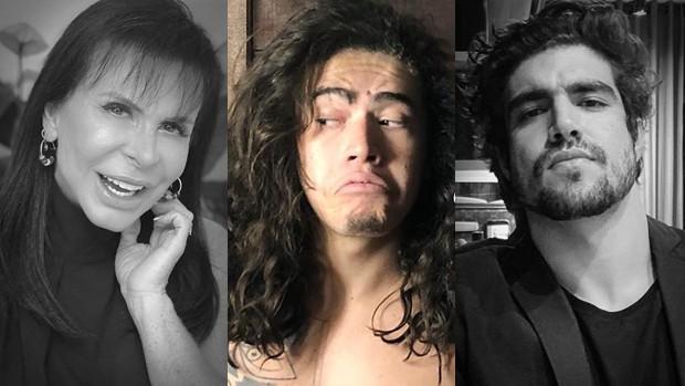 Gretchen, Whindersson Nunes e Caio Castro