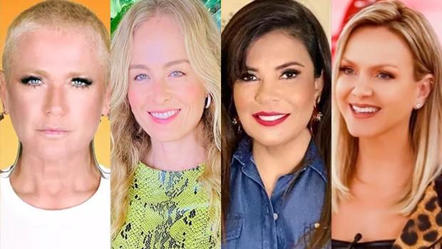 Xuxa, Angélica, Mara Maravilha e Eliana