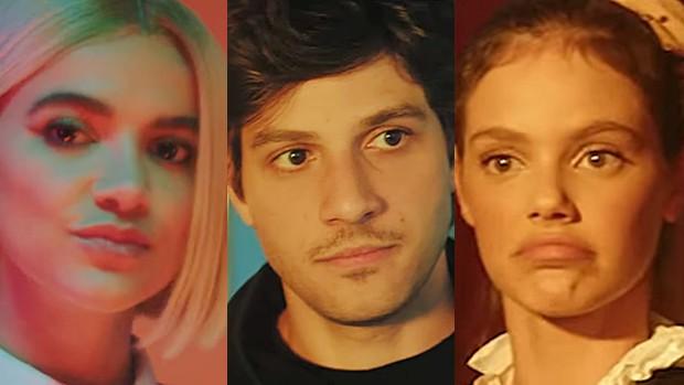 Manu Gavassi, Chay Suede e Laura Neiva