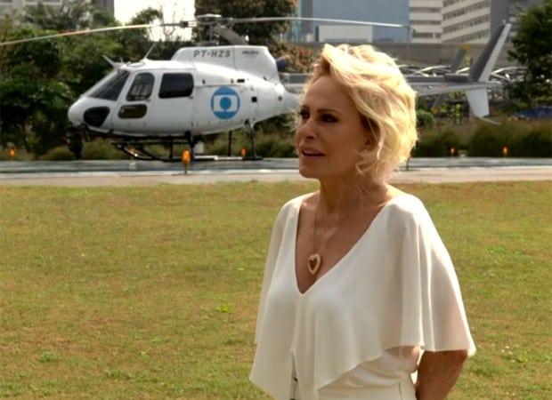 Ana Maria Braga chega a SP, no Mais Você Especial