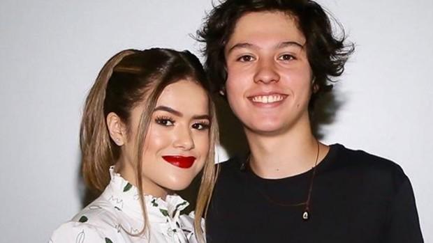 Maisa Silva e Nicolas Arashiro