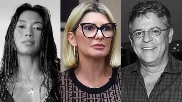 Danni Suzuki, Antonia Fontenelle e Marcos Paulo