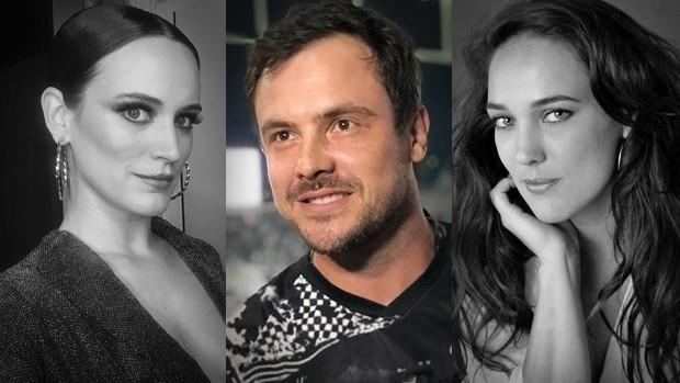 Bianca Bin, Sérgio Guizé e Adriana Birolli