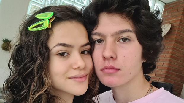 Maisa Silva e Nicholas Arashiro