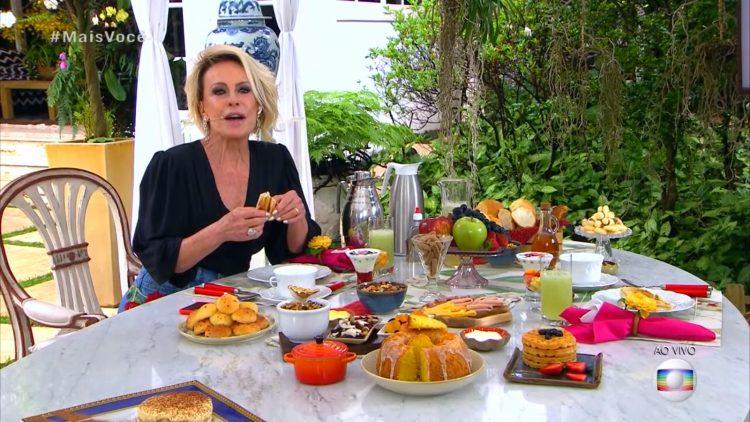 Ana Maria provou vários pratos na semana de reestreia do Mais Você