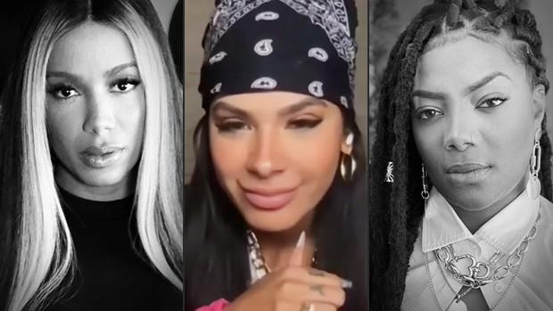 Anitta, Pocah e Ludmilla