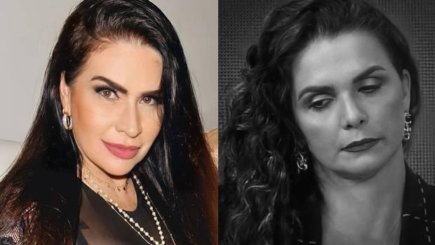 Solange Gomes e Luiza Ambiel