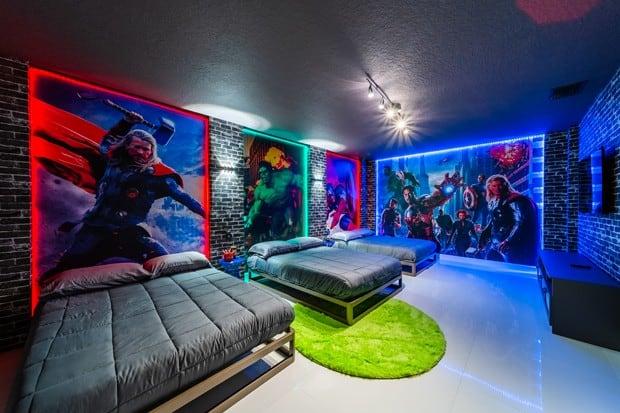 20201130 por dentro da  nova  casa de 500 m2  do jogador hulk em orlando na florida 23