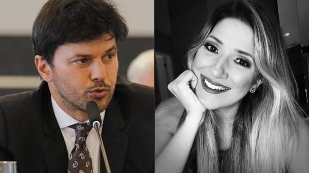 Fábio Faria e Dani Calabresa