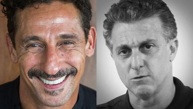Tuca Andrada e Luciano Huck