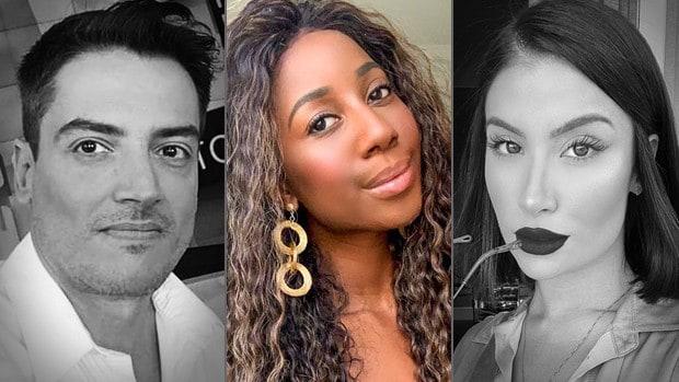 Leo Dias, Camilla de Lucas e Bianca Andrade